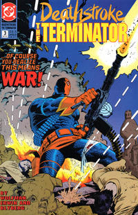 Cover Thumbnail for Deathstroke, the Terminator (DC, 1991 series) #3