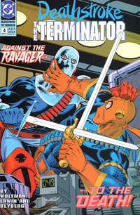 Cover Thumbnail for Deathstroke, the Terminator (DC, 1991 series) #4
