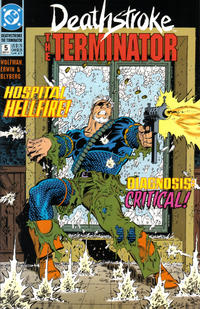 Cover Thumbnail for Deathstroke, the Terminator (DC, 1991 series) #5