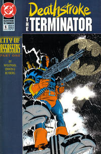 Cover Thumbnail for Deathstroke, the Terminator (DC, 1991 series) #6