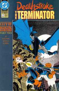 Cover Thumbnail for Deathstroke, the Terminator (DC, 1991 series) #7