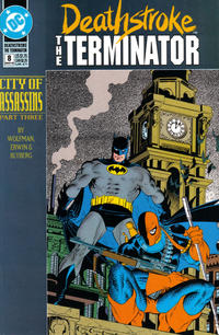 Cover Thumbnail for Deathstroke, the Terminator (DC, 1991 series) #8