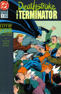 Cover Thumbnail for Deathstroke, the Terminator (DC, 1991 series) #9