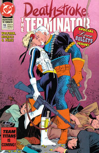 Cover Thumbnail for Deathstroke, the Terminator (DC, 1991 series) #11