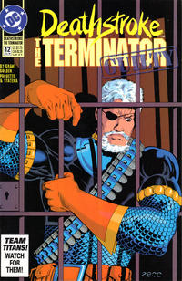 Cover Thumbnail for Deathstroke, the Terminator (DC, 1991 series) #12