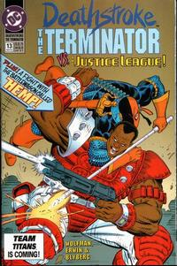 Cover Thumbnail for Deathstroke, the Terminator (DC, 1991 series) #13