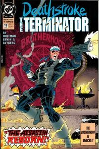 Cover Thumbnail for Deathstroke, the Terminator (DC, 1991 series) #18