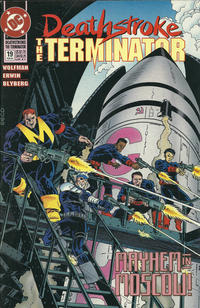 Cover Thumbnail for Deathstroke, the Terminator (DC, 1991 series) #19