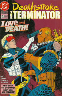 Cover Thumbnail for Deathstroke, the Terminator (DC, 1991 series) #21