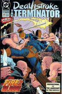 Cover Thumbnail for Deathstroke, the Terminator (DC, 1991 series) #22