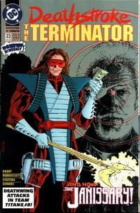 Cover Thumbnail for Deathstroke, the Terminator (DC, 1991 series) #23