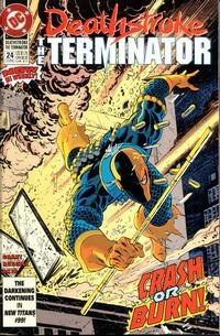 Cover Thumbnail for Deathstroke, the Terminator (DC, 1991 series) #24