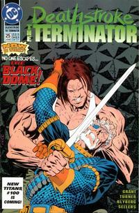 Cover Thumbnail for Deathstroke, the Terminator (DC, 1991 series) #25