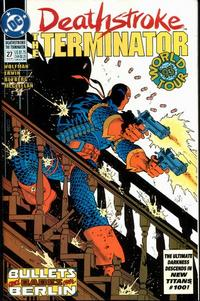 Cover Thumbnail for Deathstroke, the Terminator (DC, 1991 series) #27