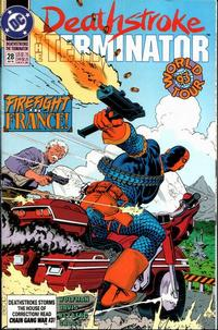 Cover Thumbnail for Deathstroke, the Terminator (DC, 1991 series) #28