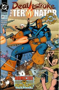 Cover Thumbnail for Deathstroke, the Terminator (DC, 1991 series) #29