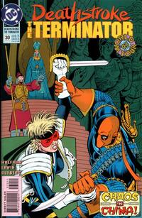 Cover Thumbnail for Deathstroke, the Terminator (DC, 1991 series) #30