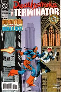 Cover Thumbnail for Deathstroke, the Terminator (DC, 1991 series) #33