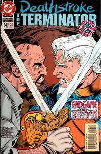 Cover Thumbnail for Deathstroke, the Terminator (DC, 1991 series) #34