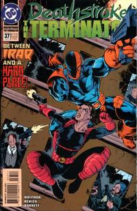Cover Thumbnail for Deathstroke, the Terminator (DC, 1991 series) #37