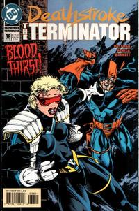 Cover Thumbnail for Deathstroke, the Terminator (DC, 1991 series) #38