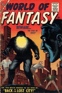 Cover Thumbnail for World of Fantasy (Marvel, 1956 series) #5