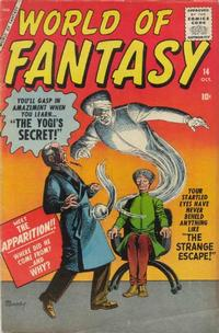 Cover Thumbnail for World of Fantasy (Marvel, 1956 series) #14