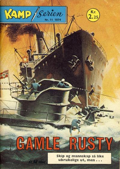 Cover for Kamp-serien (Serieforlaget / Se-Bladene / Stabenfeldt, 1964 series) #11/1974