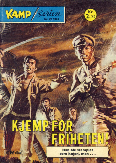 Cover for Kamp-serien (Serieforlaget / Se-Bladene / Stabenfeldt, 1964 series) #29/1974