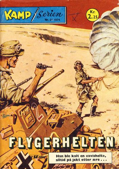 Cover for Kamp-serien (Serieforlaget / Se-Bladene / Stabenfeldt, 1964 series) #31/1974