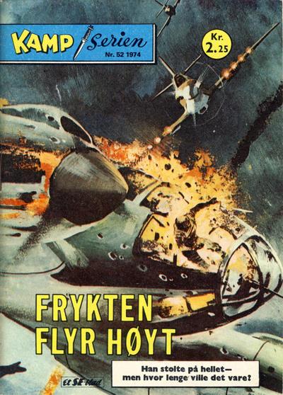 Cover for Kamp-serien (Serieforlaget / Se-Bladene / Stabenfeldt, 1964 series) #52/1974