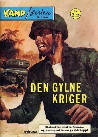 Cover for Kamp-serien (Serieforlaget / Se-Bladene / Stabenfeldt, 1964 series) #3/1975