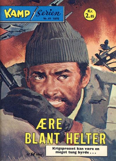 Cover for Kamp-serien (Serieforlaget / Se-Bladene / Stabenfeldt, 1964 series) #41/1975