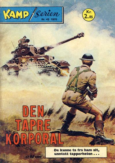 Cover for Kamp-serien (Serieforlaget / Se-Bladene / Stabenfeldt, 1964 series) #42/1975