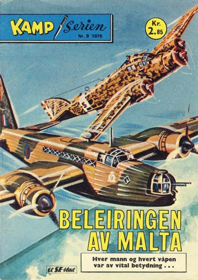 Cover for Kamp-serien (Serieforlaget / Se-Bladene / Stabenfeldt, 1964 series) #8/1976