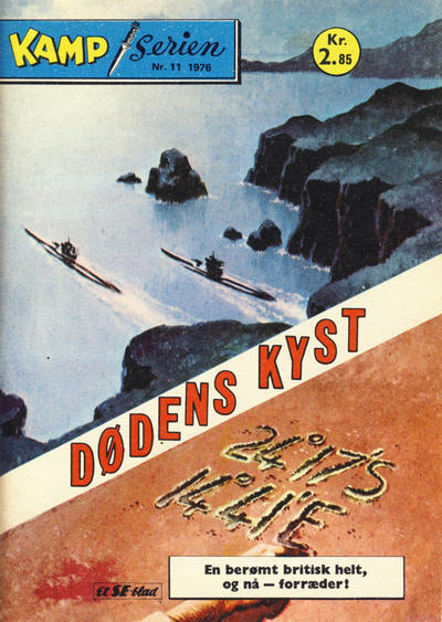 Cover for Kamp-serien (Serieforlaget / Se-Bladene / Stabenfeldt, 1964 series) #11/1976