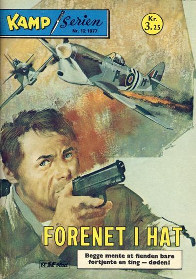 Cover for Kamp-serien (Serieforlaget / Se-Bladene / Stabenfeldt, 1964 series) #12/1977