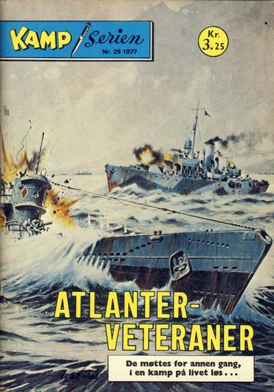 Cover for Kamp-serien (Serieforlaget / Se-Bladene / Stabenfeldt, 1964 series) #29/1977