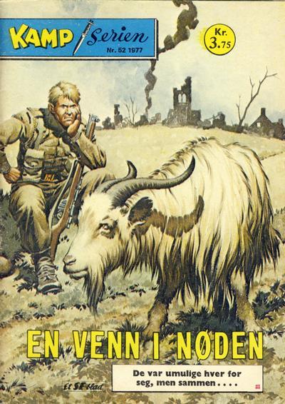 Cover for Kamp-serien (Serieforlaget / Se-Bladene / Stabenfeldt, 1964 series) #52/1977