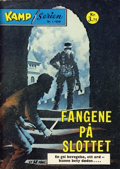 Cover for Kamp-serien (Serieforlaget / Se-Bladene / Stabenfeldt, 1964 series) #1/1978