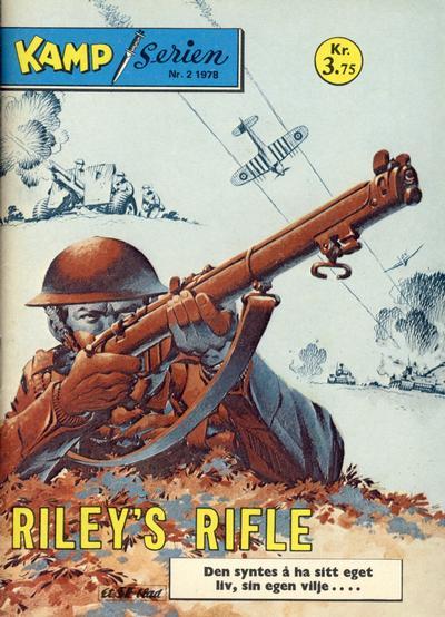 Cover for Kamp-serien (Serieforlaget / Se-Bladene / Stabenfeldt, 1964 series) #2/1978