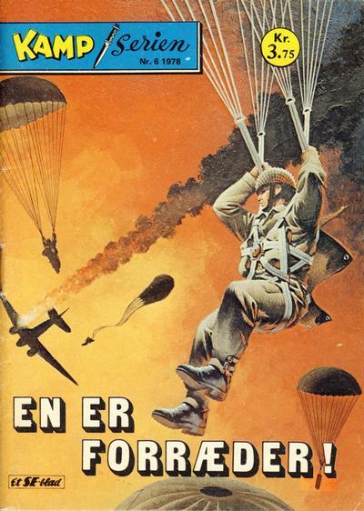 Cover for Kamp-serien (Serieforlaget / Se-Bladene / Stabenfeldt, 1964 series) #6/1978