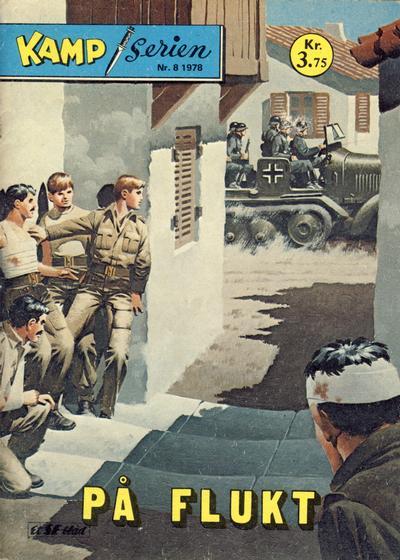 Cover for Kamp-serien (Serieforlaget / Se-Bladene / Stabenfeldt, 1964 series) #8/1978