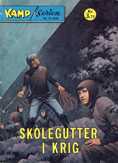 Cover for Kamp-serien (Serieforlaget / Se-Bladene / Stabenfeldt, 1964 series) #10/1978