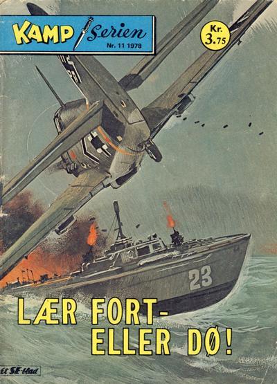 Cover for Kamp-serien (Serieforlaget / Se-Bladene / Stabenfeldt, 1964 series) #11/1978