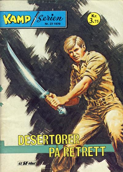 Cover for Kamp-serien (Serieforlaget / Se-Bladene / Stabenfeldt, 1964 series) #27/1979