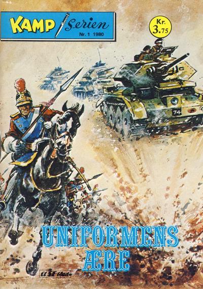 Cover for Kamp-serien (Serieforlaget / Se-Bladene / Stabenfeldt, 1964 series) #1/1980