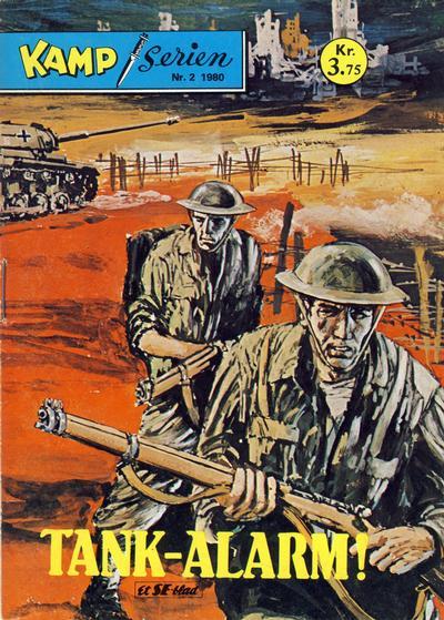 Cover for Kamp-serien (Serieforlaget / Se-Bladene / Stabenfeldt, 1964 series) #2/1980