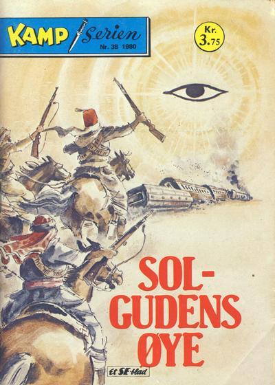 Cover for Kamp-serien (Serieforlaget / Se-Bladene / Stabenfeldt, 1964 series) #38/1980