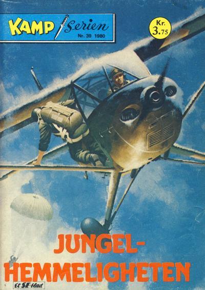 Cover for Kamp-serien (Serieforlaget / Se-Bladene / Stabenfeldt, 1964 series) #39/1980